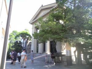 大原美術館。日本初の西洋美術館であります